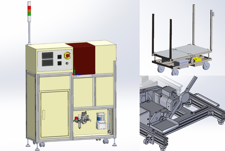 様々な業界への設備企画・設計・納入実績