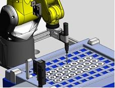 ネジ締め付けロボット自動機